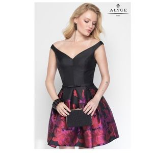 ALYCE PARIS 3695 HOMECOMING SHORT COCKTAIL DRESS